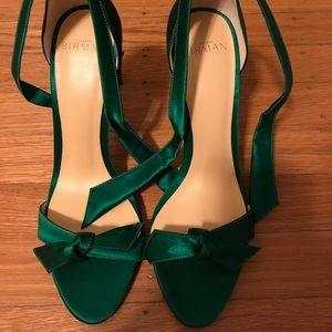 Alexandre Birman clarita emerald green shoes